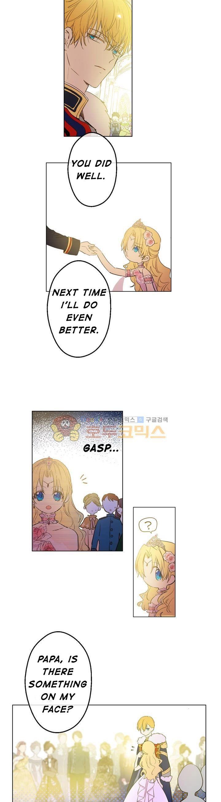 suddenly became a princess one day webtoon