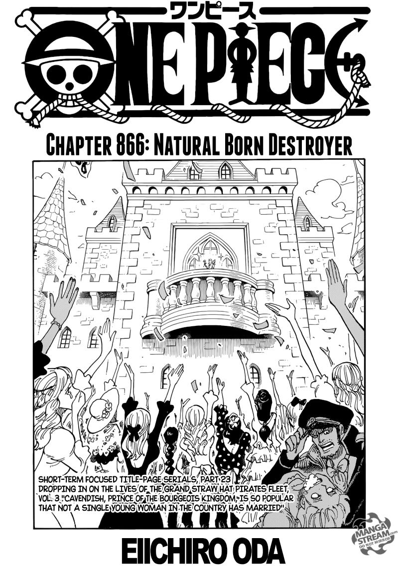 One Piece - Chapter 869